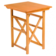 Folding Table T-60 HONEY-coloured Varnish