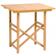 Folding table T-70 NATUR varnish