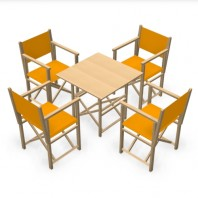 Pack Menorcan Chairs & NATUR table