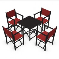 Pack Menorcan chairs & CLASSIC table