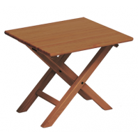 Folding Side table Mod TX-50 BRANDY varnish