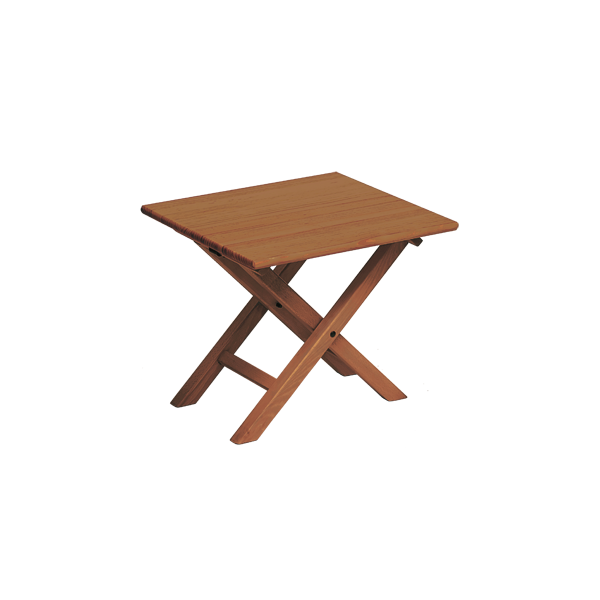 Table d 39 appoint mod tx 50 vernis brandy sillas menorca for Table exterieur 50x50