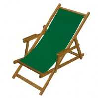 Deck Chair HB HONEY-coloured varnish